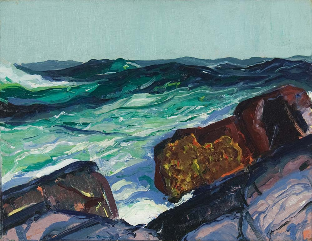 George Bellows, Iron Coast Monhegan