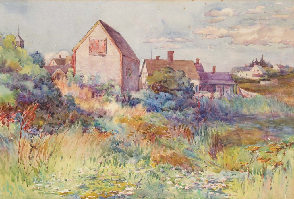 The Rope Shed, Monhegan