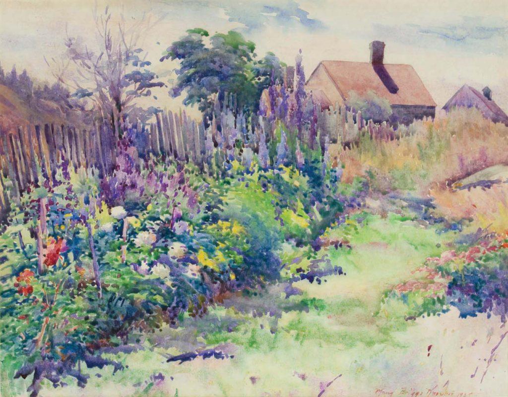 Lora Jenney's Garden, Monhegan