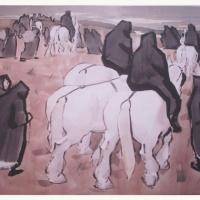 Monks of Carmel Print