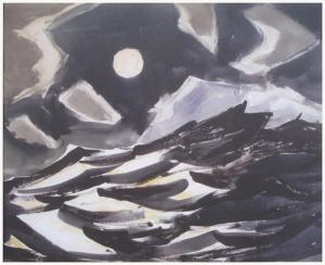 Moonlit Ocean Print