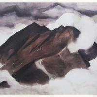 Storm Clouds Katahdin Print